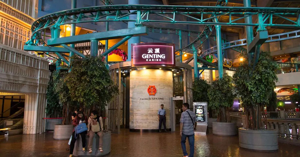 Bermain Judi Legal Cukup Kunjungi Kasino Genting