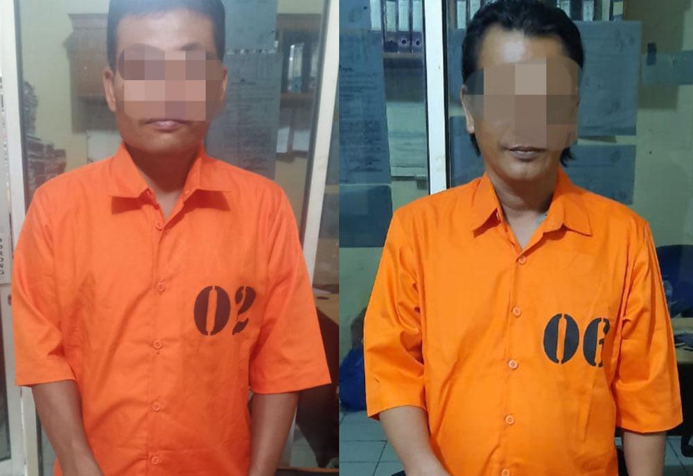 Ketahuan Bermain Togel, 2 Tersangka Di Lubuk Sikaping Ditangkap Aparat