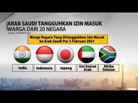 Arab Saudi Tangguhkan Persetujuan Masuk Warga dari 20 Negeri, Termasuk Indonesia
